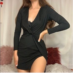 Fashion Nova Knot Tie Dress